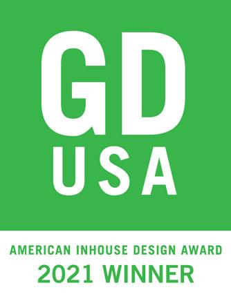 2021 Graphic Design USA Recipient